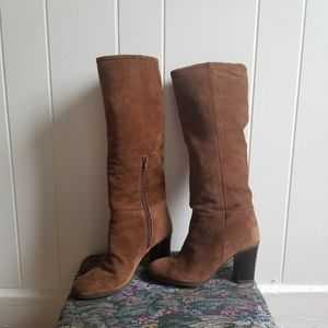 ALDO Leather Brown Boots